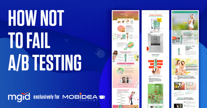 8 Steps on How Not To Fail A/B Testing