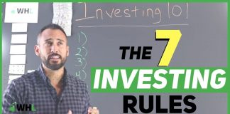 7 Rules of Investing For Beginners (start making money in your 20s)
