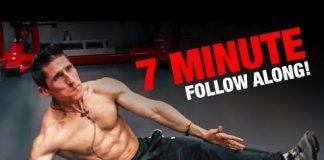 Intense Ab Workout | 7 Minutes (FOLLOW ALONG!)