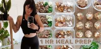 MEAL PREP WITH ME - healthy, fast meals (IN 1 HOUR) // Rachel Aust