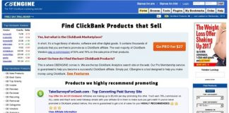 ClickBank Marketplace - CBENGINE