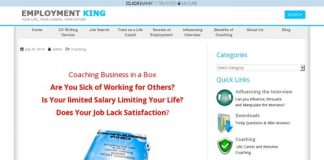 Get Paid To Be A Life Coach – Coaching Business in a Box – Influence the Interview