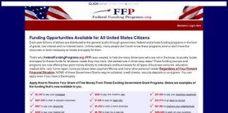 Home - FederalFundingPrograms.org