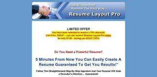Resumes360.com: Resume Layout Pro