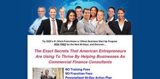Business Training: Commercial  / Business Finance Consulting, loan broker training,