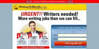 WritingToWealth - Join Now!
