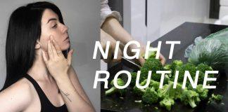 Current Night/Evening Routine 2016 // Rachel Aust