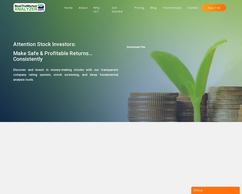 """""""#1 Stock Analyzer"""" 