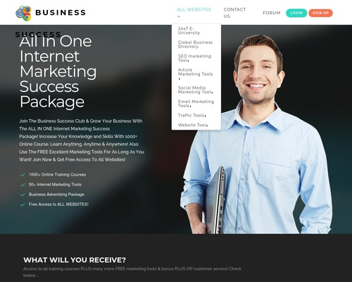 All In One Internet Marketing Success Package