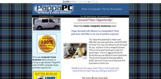 Pappapc Computer Home Business - $100 Per Hour!