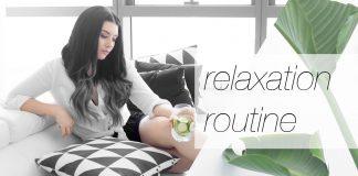 My Simple Relaxation & De-Stressing Routine // Rachel Aust