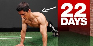 Get a Bigger Chest in 22 Days! (HOME CHEST WORKOUT)