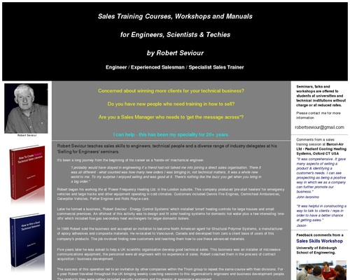Sales training courses for engineers and techies