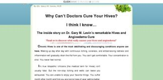 Hives Urticaria & Angioedema Treatment Protocol | Cure & Relief