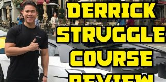 Derrick Struggle Amazon FBA Heroes Course Review with my Sales Numbers