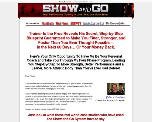 Show and Go Training by Eric Cressey | Show and Go Training by Eric Cressey