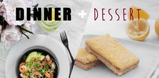 HEALTHY MEAL IDEAS (Main + Dessert!) // Rachel Aust
