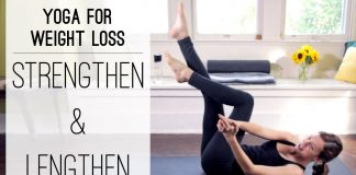 Yoga For Weight Loss  -  Strengthen and Lengthen  -  Yoga With Adriene