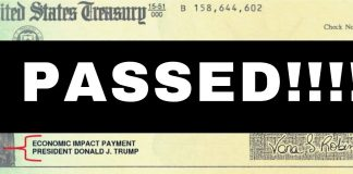 Second $1,200 Stimulus Check Passes House - What' Next?