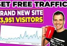 How To Get Free Website Traffic (23,951 Pageviews)