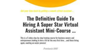 Definitive Guide To Hiring A VA Mini-Course · SmashGo