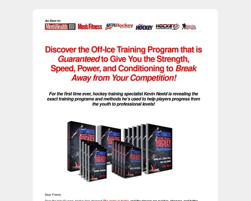 Ultimate Hockey Transformation   Year-round off-ice training programs to help you transform your game, development, and career!
