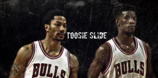 "Derrick Rose Mix Ft.Jimmy Butler - ""Toosie Slide"""