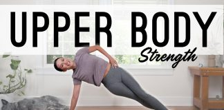 Yoga For Upper Body Strength  |   Yoga With Adriene
