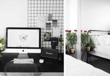 BEDROOM TOUR | Fresh, black & white style // Rachel Aust