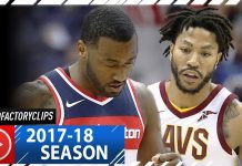 Derrick Rose vs John Wall PG Duel Highlights (2017.11.03) Wizards vs Cavaliers - SICK!