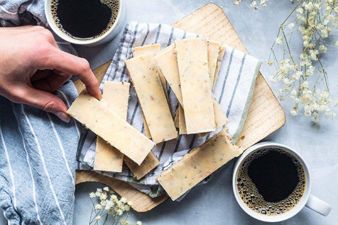 Frozen Coconut Macadamia DIY Energy Bars Recipe