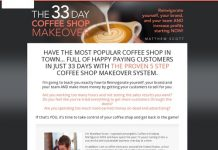 The 33 Day Coffee Shop Makeover