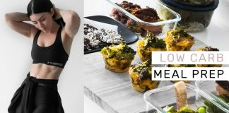 GLUTEN FREE LOW CARB MEAL PREP - What I Eat for PCOS