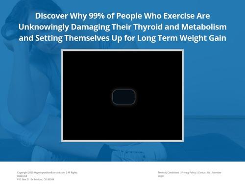 The Hypothyroidism Exercise Revolution