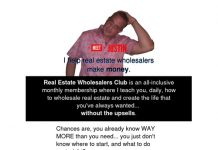 Real Estate Wholesalers Club by Justin Chamness