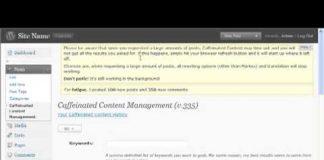 07/11 Caffeinated Content Auto Blogging Revealed