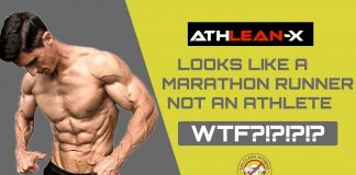 Athlean-x looks like a marathon runner NOT an athlete - reaction - WHAT?!?!?