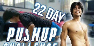 I did ATHLEAN-X 22 DAY PUSHUP CHALLENGE | Daily Diet | Transformation