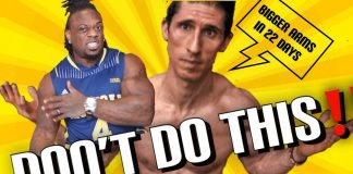 ATHLEAN X CAN YOU GET BIGGER ARMS IN 22 DAYS? I CALL BULL SH** MY RESPONSE|COACHING UP