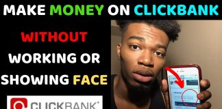 How To Make Money On Clickbank For Beginners 2019 (WITHOUT WORKING)