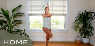 Home - Day 23 - Focus  |  30 Days of Yoga With Adriene