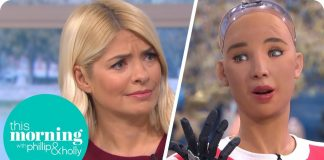 Phillip & Holly Interview This Morning's First Robot Guest Sophia | This Morning