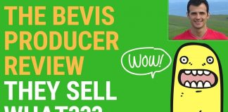 The Bevis Producer Review & Best Bonus (They Sell What???)