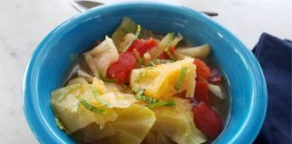 Simple and Savory Tomato Cabbage Soup Recipe