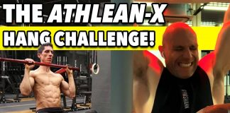 Can I Beat ATHLEAN-X At at The 100-SECOND HANG CHALLENGE?!