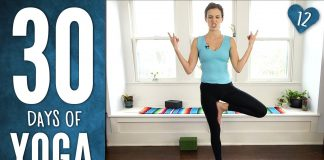 Day 12 - Yoga For Spinal Health - 30 Days of Yoga