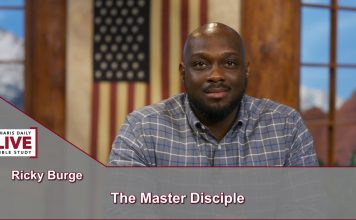 Charis Daily Live Bible Study: The Master Disciple - Ricky Burge - October 14, 2021