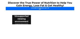 Power of Nutrition Clickbank